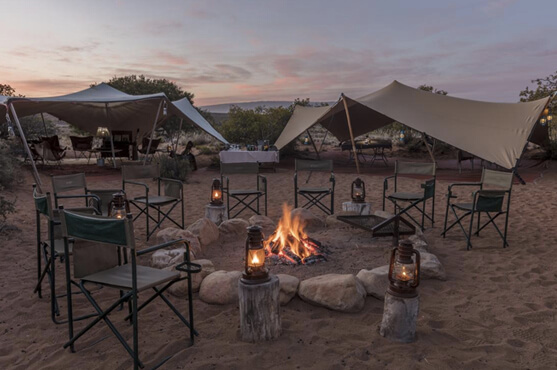 Safaris Down South - Sanbona Camp - Tented Camp*