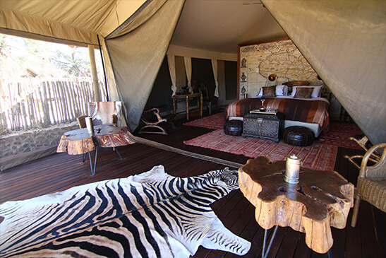 Safaris Down South - Inverdoorn - Kuganha Tented Camp