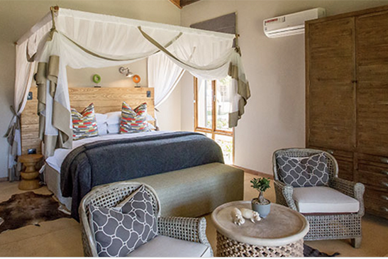 Safaris Down South - Village Lodge at Botlierskop Game Reserve - Luxury Room